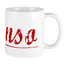 Alonso, Vintage Red Mug