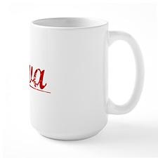 Alva, Vintage Red Mug