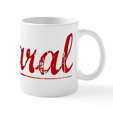 Amaral, Vintage Red Mug