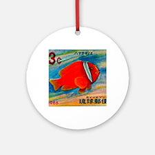 Ryukyu Islands 1966 Clownfish Posta Round Ornament