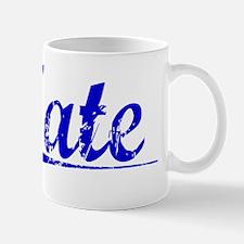 Tate, Blue, Aged Mug