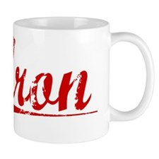 Aron, Vintage Red Mug
