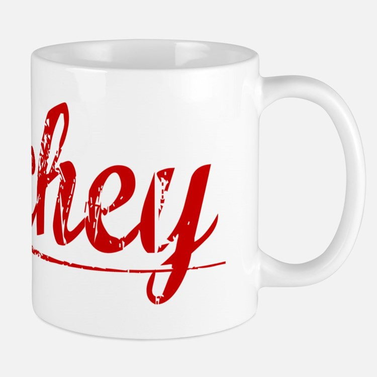 Archey, Vintage Red Mug