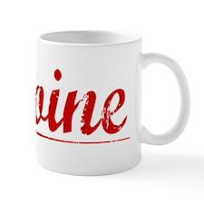 Antoine, Vintage Red Mug