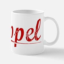 Appel, Vintage Red Mug