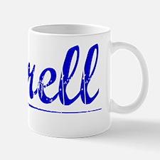 Terrell, Blue, Aged Mug