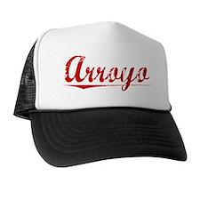 Arroyo, Vintage Red Trucker Hat