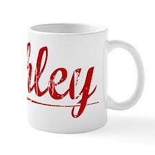 Ashley, Vintage Red Mug