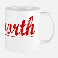 Ashworth, Vintage Red Mug