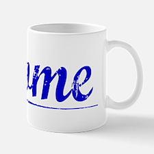 Thome, Blue, Aged Mug