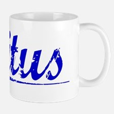 Titus, Blue, Aged Small Small Mug