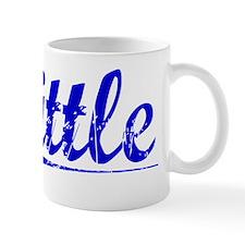 Tittle, Blue, Aged Mug