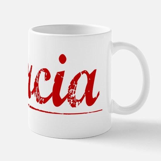 Barcia, Vintage Red Mug