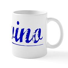 Trevino, Blue, Aged Mug