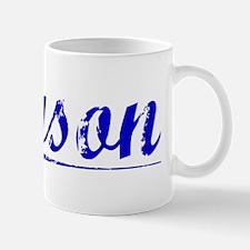Tyson, Blue, Aged Mug