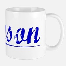 Tyson, Blue, Aged Small Small Mug
