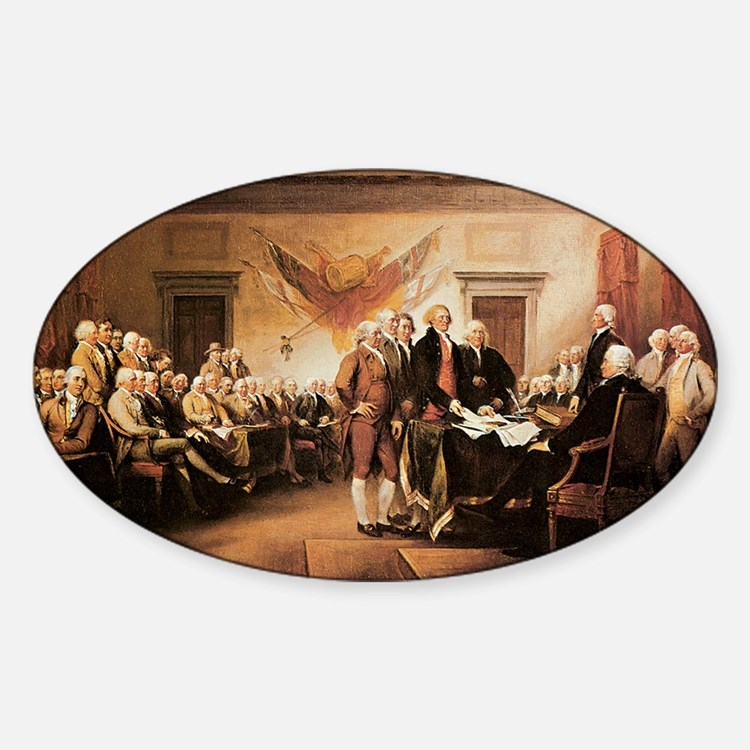 John Trumbull The Declaration of In Decal