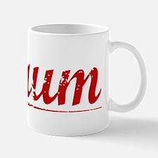 Baum, Vintage Red Mug