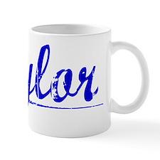 Tylor, Blue, Aged Mug