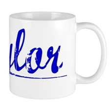 Tylor, Blue, Aged Small Mug