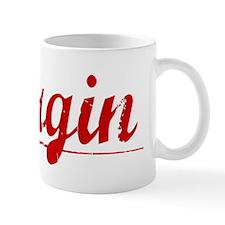 Bergin, Vintage Red Mug