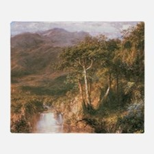 Frederic Edwin Church Heart Of Andes Throw Blanket