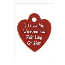 Love My Griffon Postcards (Package of 8)