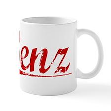 Benz, Vintage Red Mug
