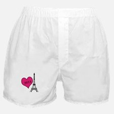 EIffel Tower Personalizable Boxer Shorts