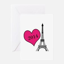EIffel Tower Personalizable Greeting Cards