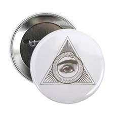 """Hemlock Grove Eye Ouroboros 2.25"""" Button"""