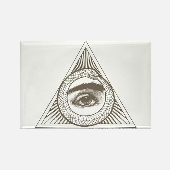 Hemlock Grove Eye Ouroboros Magnet