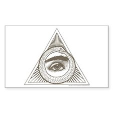Hemlock Grove Eye Ouroboros Decal