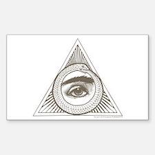 Hemlock Grove Eye Ouroboros Decal