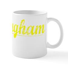 Birmingham, Yellow Small Mug