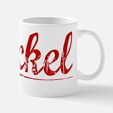 Bickel, Vintage Red Mug