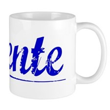 Vicente, Blue, Aged Mug
