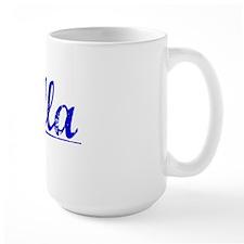 Villa, Blue, Aged Mug
