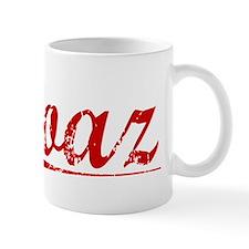 Boaz, Vintage Red Mug
