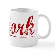 Bjork, Vintage Red Mug