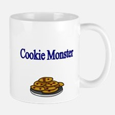 Cookie Monster design with Cookies Mugs
