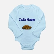 Cookie Monster Design With Cookies Body Suit