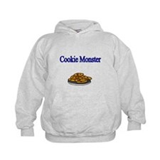 Cookie Monster design with Cookies Hoodie