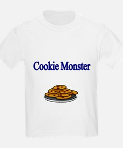 Cookie Monster design with Cookies T-Shirt