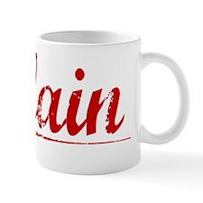 Blain, Vintage Red Mug