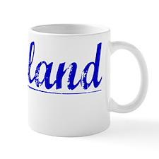 Wayland, Blue, Aged Mug