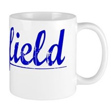 Warfield, Blue, Aged Mug