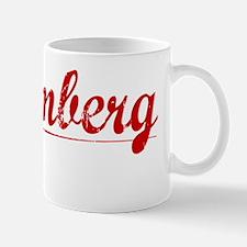 Bloomberg, Vintage Red Mug