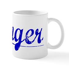 Wenger, Blue, Aged Mug