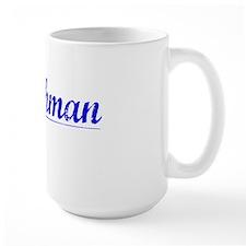 Watchman, Blue, Aged Mug